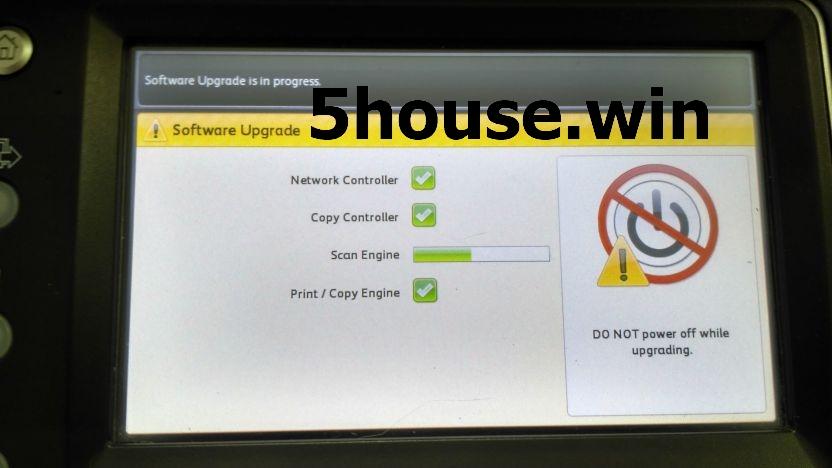 Обновление прошивки SD Upgrading of Firmware for Xerox WC